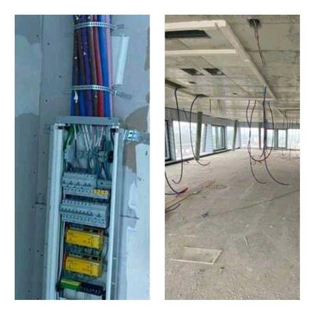 Instalacje elektryczne, elektryk, hydraulik, wykończenia wnętrz