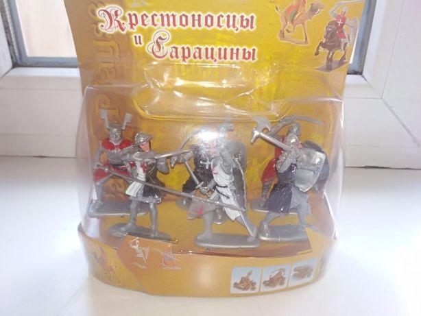 Солдатики Рыцари Крестоносцы