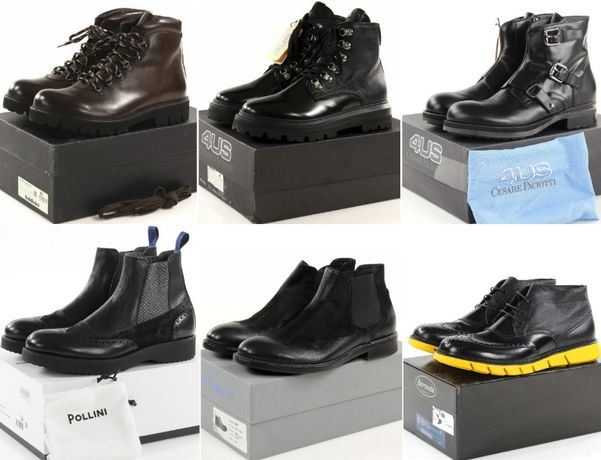 Эксклюзив! Итальянские ботинки Pollini, Baldinini, Barracuda, Paciotti