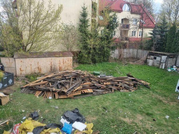 Oddam za darmo drzewo z rozbiórki i płyty