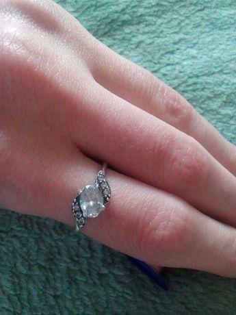 Срібне кольцо (925проба)
