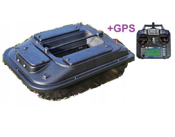 duża 70cm ŁÓDKA ZANĘTOWA P2 + GPS /Producent Poznań