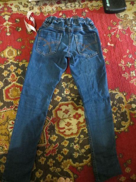 джинсы на высокого худенького мальчика 128 см