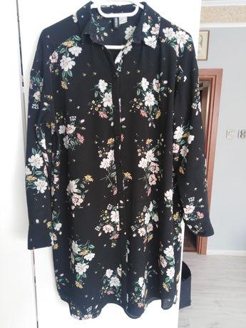 Sukienka, koszula H&M