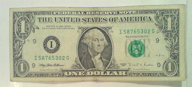 1 $. Один доллар США USA