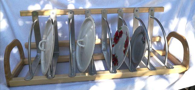 Подставка-сушка для крышек и тарелок