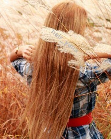 Продам рыжие натуральные славянские волосы для наращивания 53см 150г