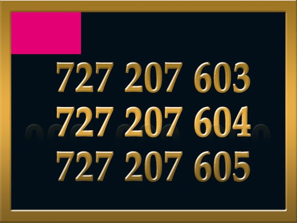 727_207_60x Złoty Numer x 3