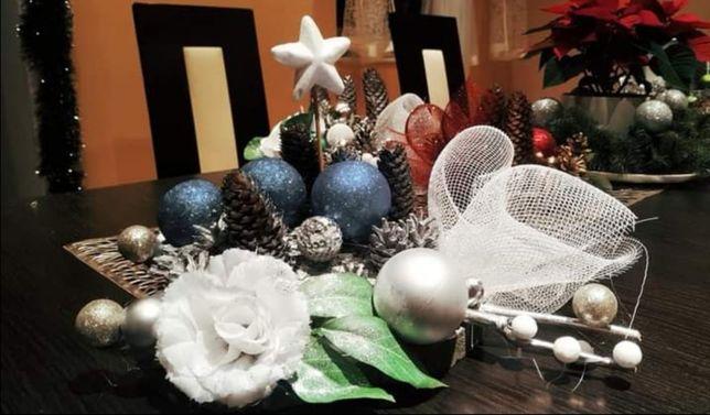 Piękne stroiki świąteczne