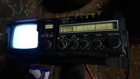 PRL Hitachi K-50E Tv/Radio/Deck/Recorder-Combo lat 80 vintage