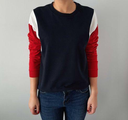 Bluza trójkolorowa