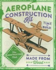 Łamigłówka drewniana. Aeroplane Consrtuction KIT