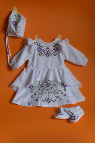 Одежда для крещения, вышиванка, крестильное платье, сорочка