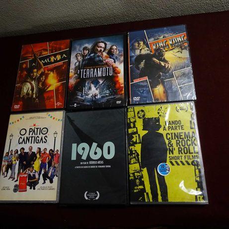 Filmes em DVD novos e selados-3 euros cada artigo