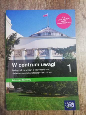 Podręcznik do wiedzy o społeczeństwie kl1