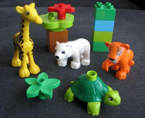 Klocki LEGO DUPLO - zestaw Zwierzątka nr katalogowy 10801
