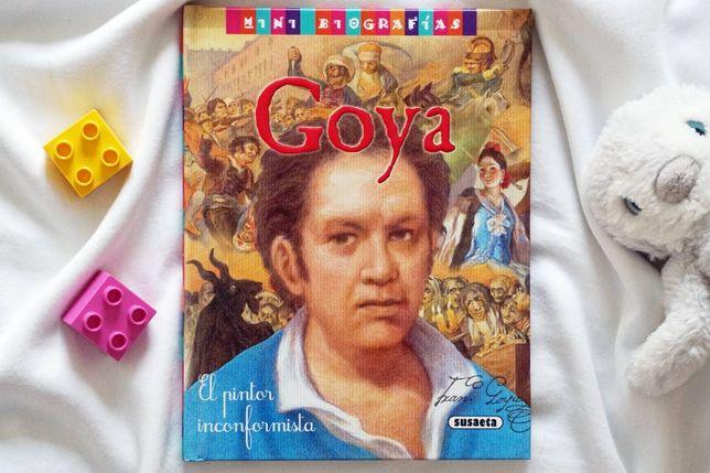 """""""Goya - mini biografías"""" - książka hiszpańska dla dzieci"""