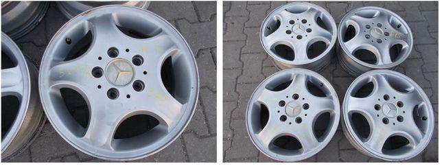 felgi aluminiowe 5x112 5,5x15 ET54 MERCEDES (379)
