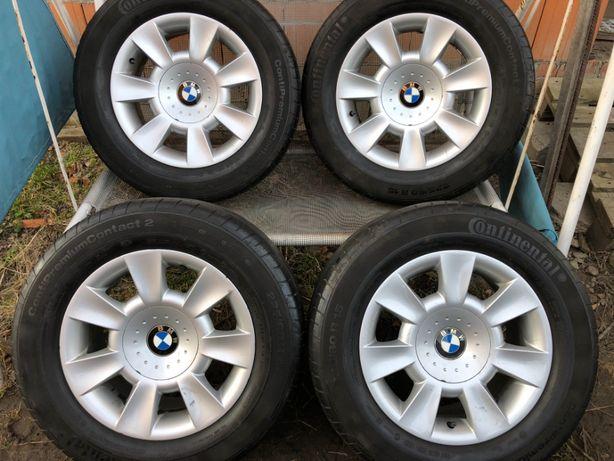 Koła letnie 15 cali BMW E39 felgi aluminiow Continental 225/60/15 Rado