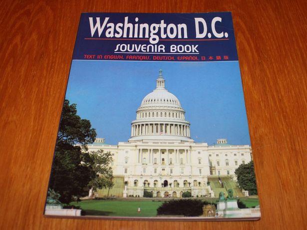 """Книга фотоальбом """"Washington D.C. Souvenir book"""" из США"""