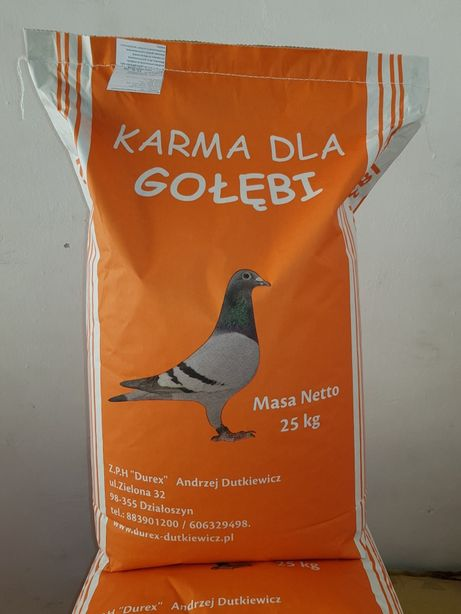 Karma dla gołębi młodych