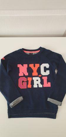 Bluza 4F  roz.104 dla dziewczynki
