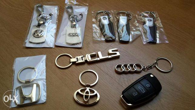 Porta chaves Audi/VW/Honda/Mercedes/Toyota