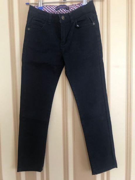 Котоновые брюки (джинсы) Tony Wanhill на мальчика 7-9 лет