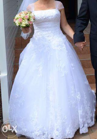 suknia ślubna Evita r.40