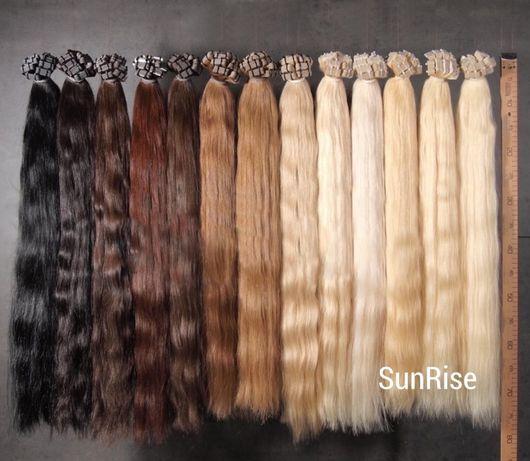 Tape on - Włosy naturalne, słowiańskie 30 cm - 110 cm