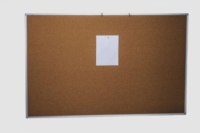Доска пробковая, для объявлений, офисная 60*90