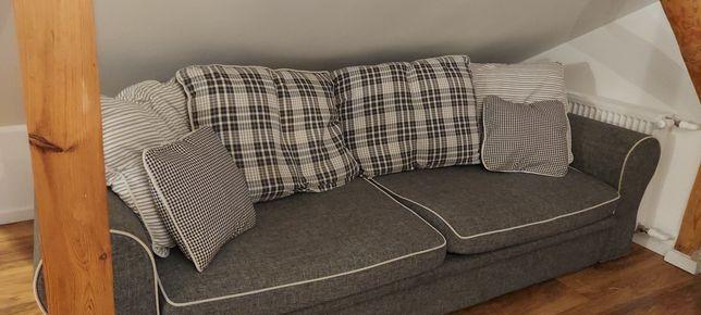 Duża kanapa Bonito z funkcją spania w bardzo dobrym stanie