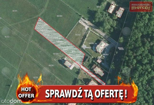Działka, 2 128 m², Jaworze