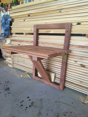 Bio Asekuracja ASF krzesełko ławka ławeczka stojak dozownik