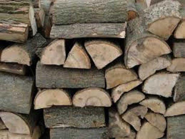 Porąbane drewno kominkowe-sezonowane, dobrze się pali,