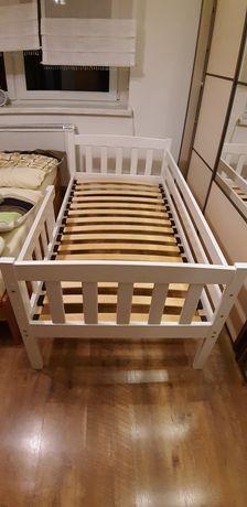 Łóżko, łóżeczko dla dziecka, białe 160x80
