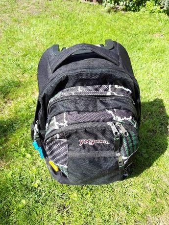 Plecak jansport tornister rączka kółka duży