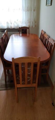 Sprzedam stół +8 krzesła