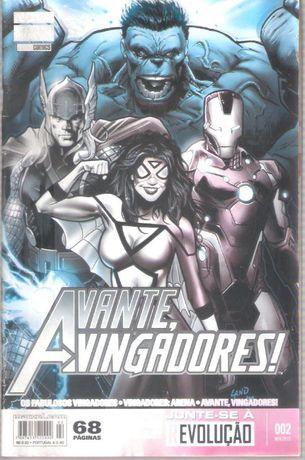 BD Nova Marvel Panini Comics Avante Vingadores nº2