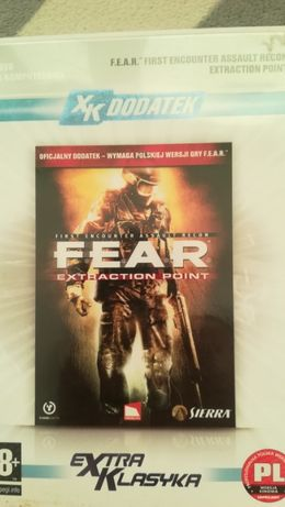 Gra PC FPS HORROR FEAR F.E.A.R- Extraction Point. Oficjalny dodatek.