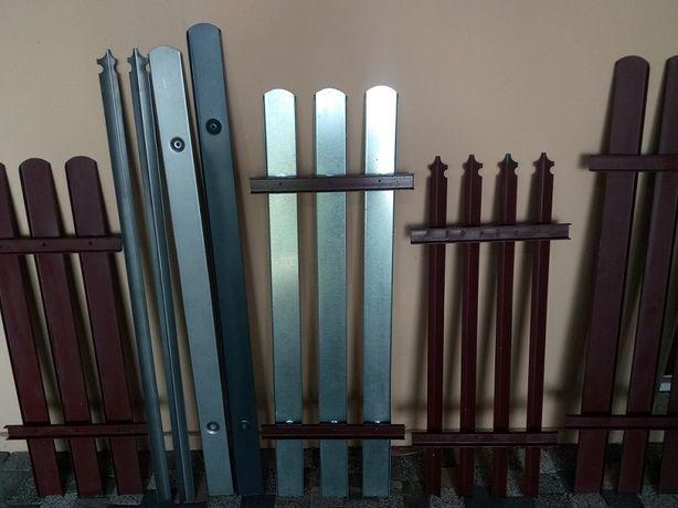 Sztachety metalowe gruba blacha