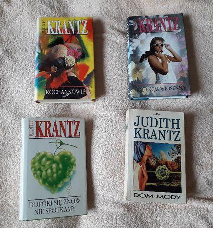 zestaw 4 książek Judith Krantz