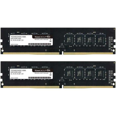 16GB RAM - 2 x 8GB DDR4 2400Mhz