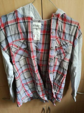 Koszulo-bluza w kratę