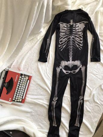 Карнавальный костюм на мальчика Скелет