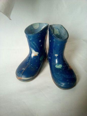 сапожки детские 20 размер осенняя обувь резиновые сапоги