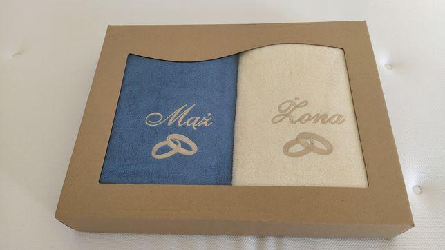 Komplet ręczników mąż żona