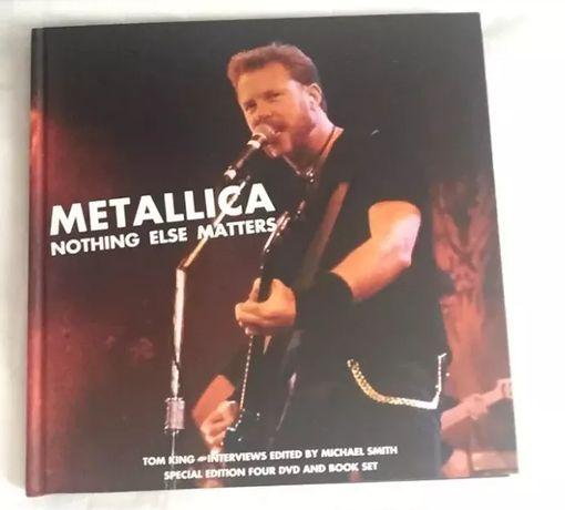 Metallica: Nothing Else Matters com 4 DVD's