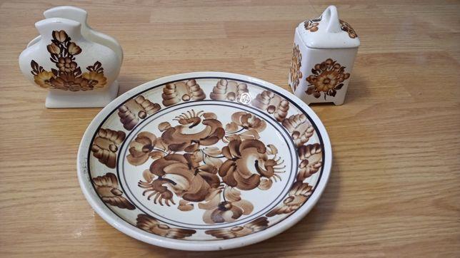 Stara porcelana. Recznie malowana