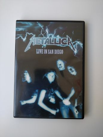 DVD Metallica live in San Diego